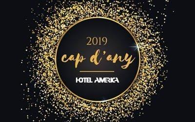 Cap d'any 2018-2019 Hotel Amèrica Igualada