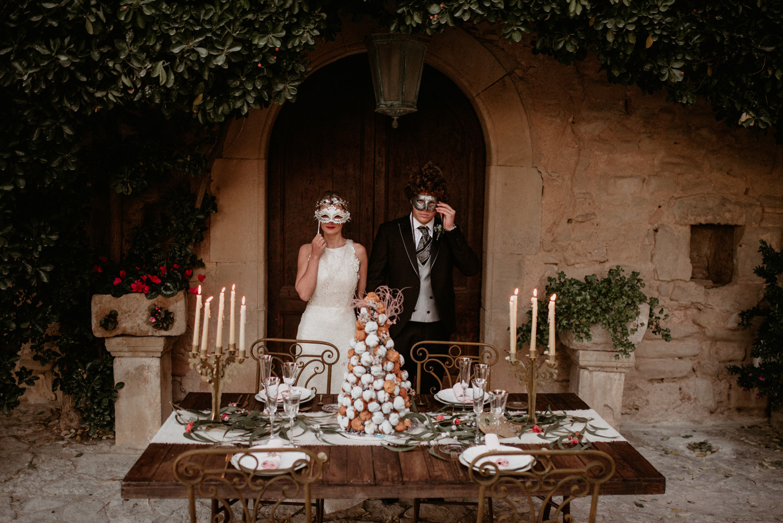 Un Casament Venecià Al Castell De Tous