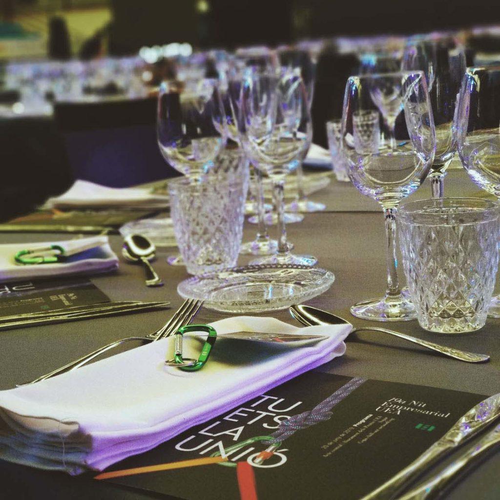 Càtering Sopar Nit Empresarial UEA 2019