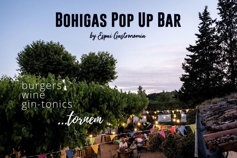 Bohigas Pop Up Bar